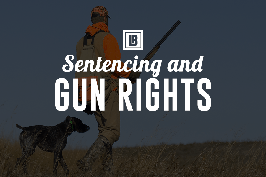 Sentencing and gun rights - Minnesota Lawyer