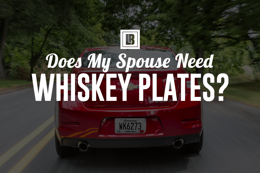 Minnesota Whiskey Plates