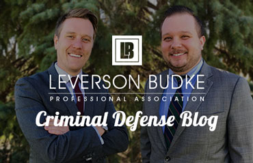 Leverson Budke Criminal Defense Blog