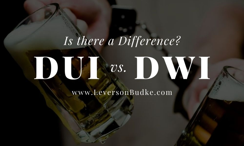 DUI vs DWI in MN.  The Difference