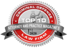 Top 10 Criminal Defense Law Firm - Attorney and Practice Magazine